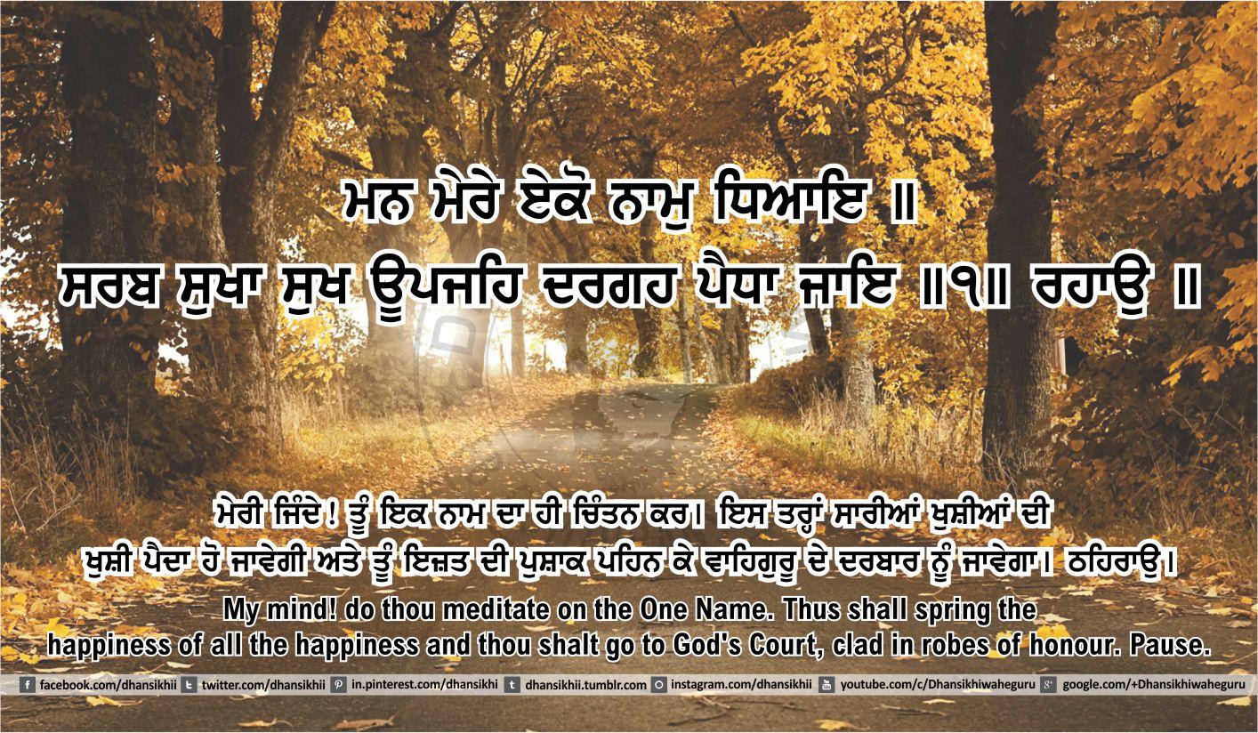 Sri Guru Granth Sahib Ji Arth Ang 45 post 13