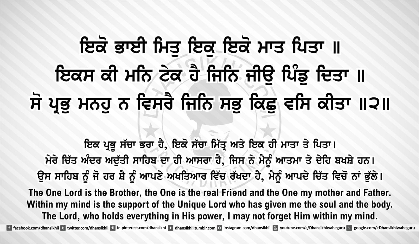 Sri Guru Granth Sahib Ji Arth Ang 45 post 8