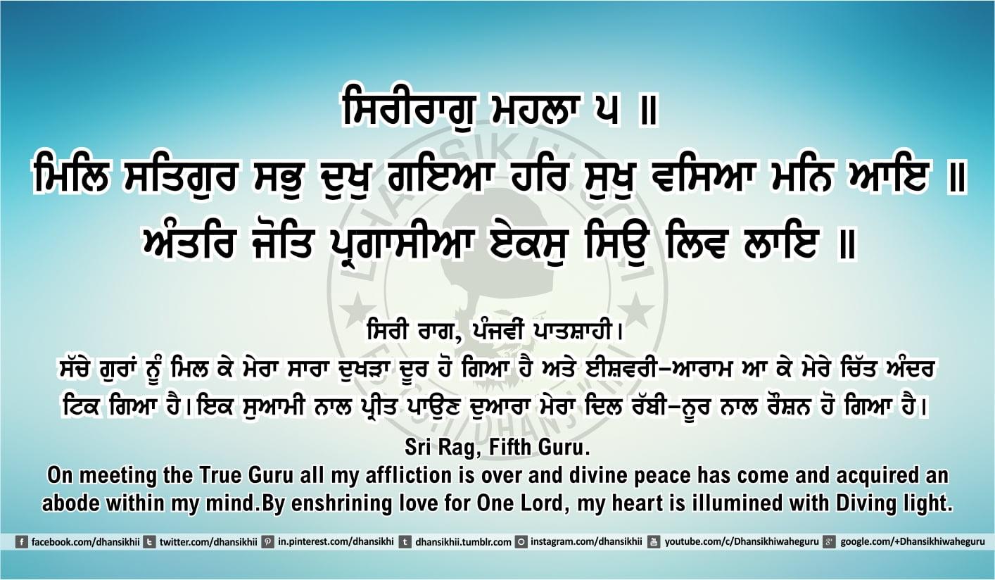Sri Guru Granth Sahib Ji Arth