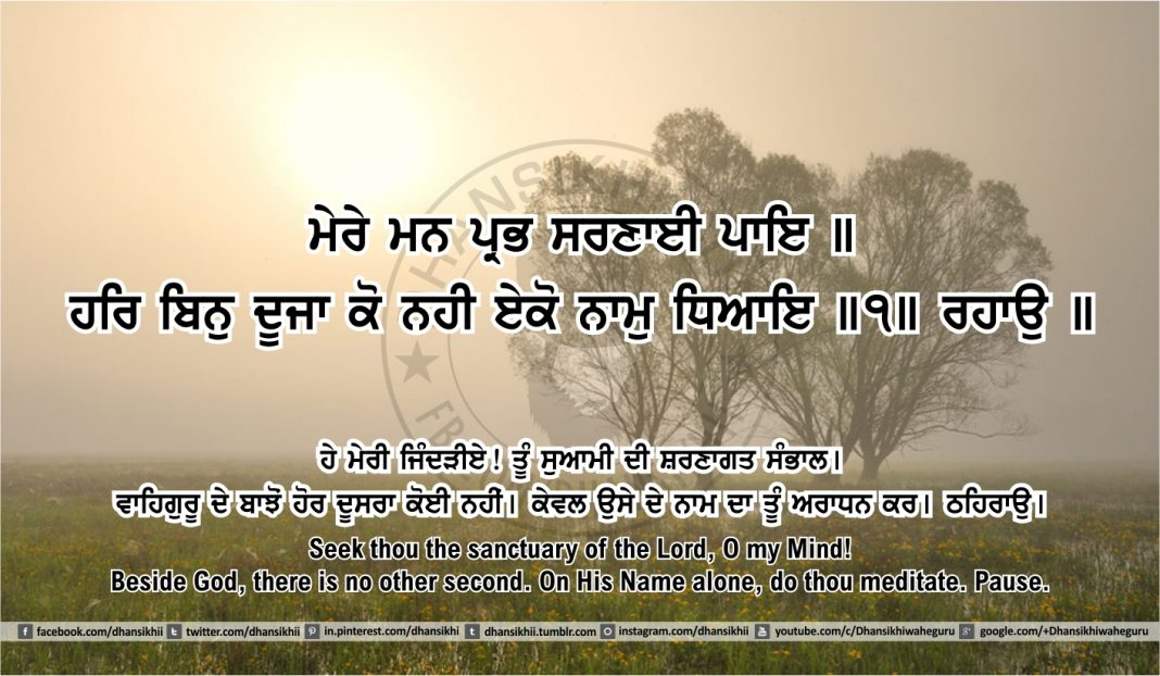 Sri Guru Granth Sahib Ji Arth Ang 46 post 12