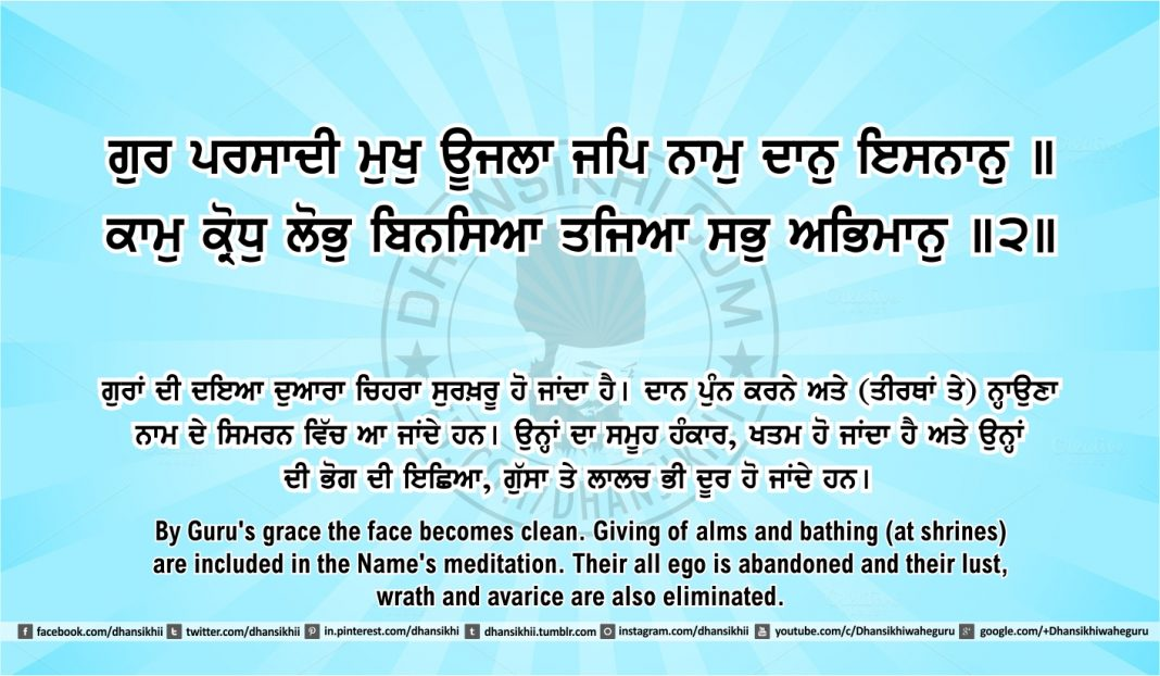 Sri Guru Granth Sahib Ji Arth Ang 46 post 5