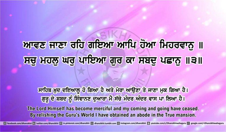 Sri Guru Granth Sahib Ji Arth Ang 46 post 7