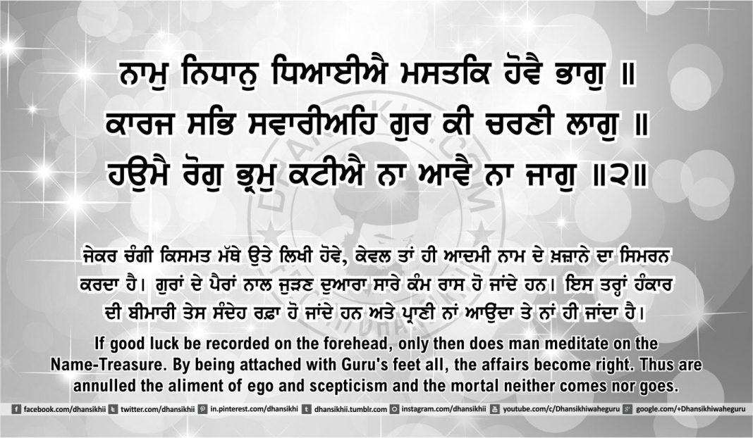 Sri Guru Granth Sahib Ji Arth Ang 47 post 17