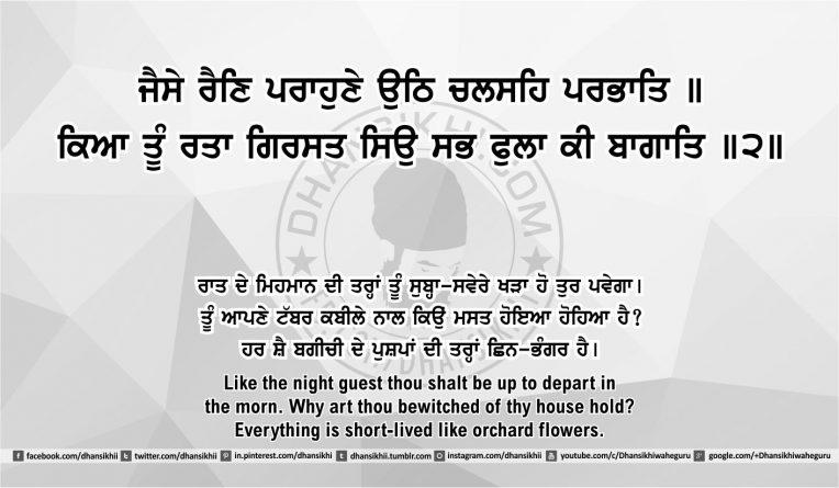 Sri Guru Granth Sahib Ji Arth Ang 50 post 11
