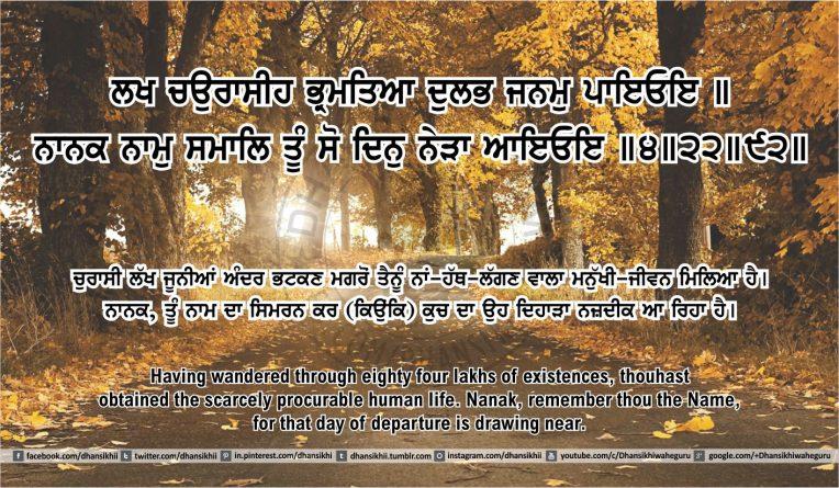 Sri Guru Granth Sahib Ji Arth Ang 50 post 13