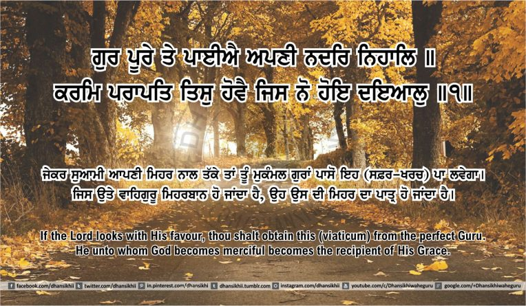 Sri Guru Granth Sahib Ji Arth Ang 49 post 13