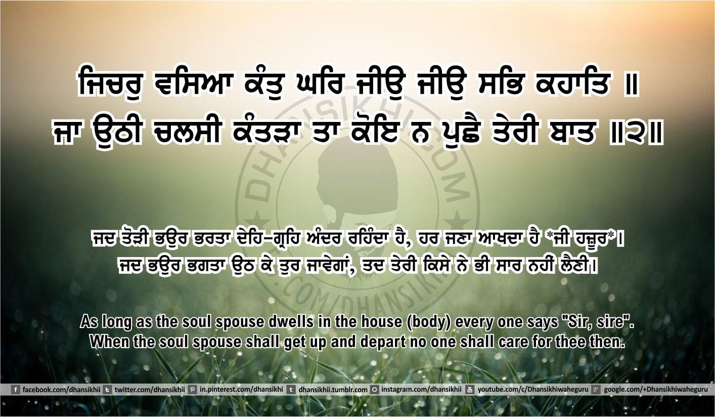 Sri Guru Granth Sahib Ji Arth Ang 50 post 16