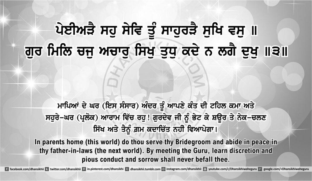 Sri Guru Granth Sahib Ji Arth Ang 50 post 17