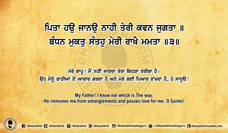 Sri Guru Granth Sahib Ji Arth Ang 51 post 19