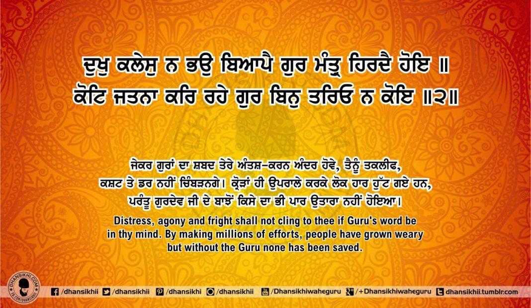 Sri Guru Granth Sahib Ji Arth Ang 51 post 3