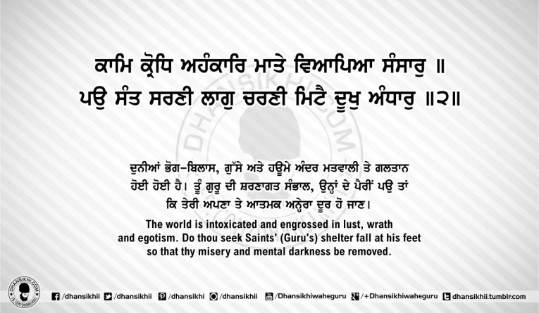Sri Guru Granth Sahib Ji Arth Ang 51 post 8