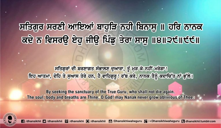 Sri Guru Granth Sahib Ji Arth Ang 52 post 16