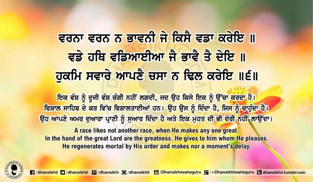 Sri Guru Granth Sahib Ji Arth Ang 53 post 12