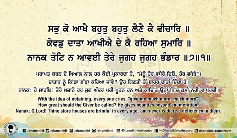 Sri Guru Granth Sahib Ji Arth Ang 53 post 13