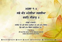 Sri Guru Granth Sahib Ji Arth Ang 53 post 14