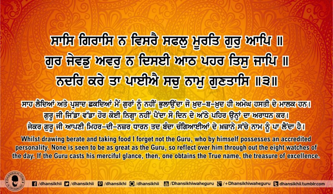 Sri Guru Granth Sahib Ji Arth Ang 53 post 3