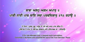 Sri Guru Granth Sahib Ji Arth Ang 53 post 7