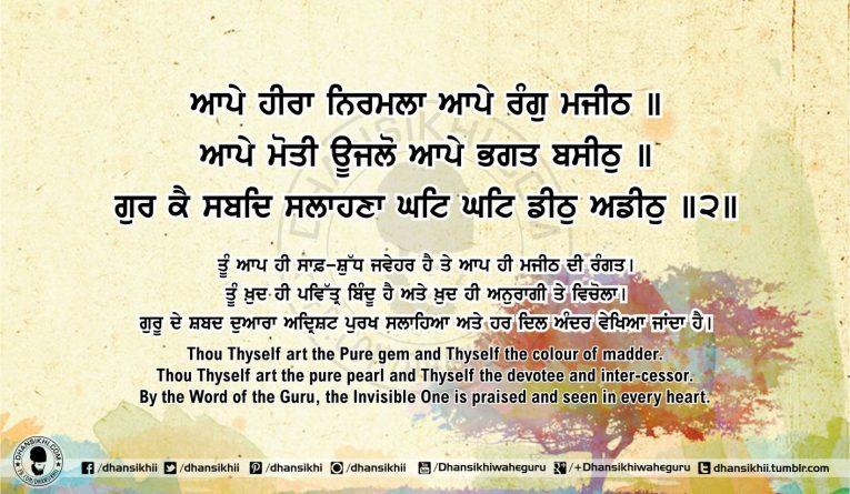 Sri Guru Granth Sahib Ji Arth Ang 54 post 13