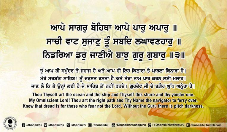 Sri Guru Granth Sahib Ji Arth Ang 54 post 14