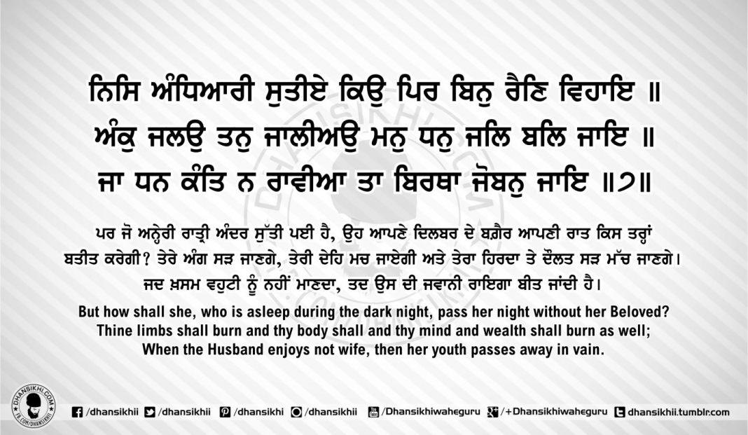 Sri Guru Granth Sahib Ji Arth Ang 54 post 8