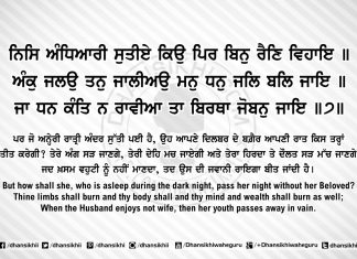 Sri Guru Granth Sahib Ji Arth Ang 54 post 8