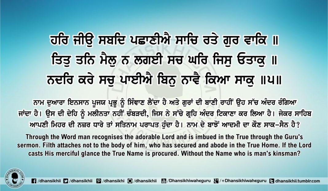 Sri Guru Granth Sahib Ji Arth Ang 55 post 1