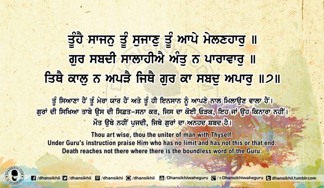 Sri Guru Granth Sahib Ji Arth Ang 55 post 13
