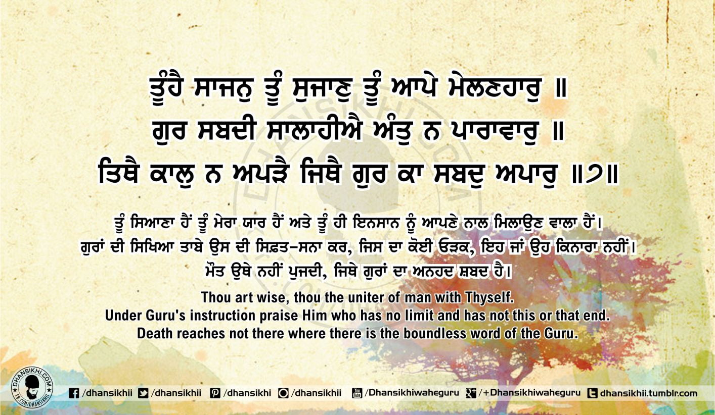 Sri Guru Granth Sahib Ji Arth Ang 55 post 13