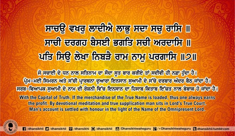 Sri Guru Granth Sahib Ji Arth Ang 55 post 3