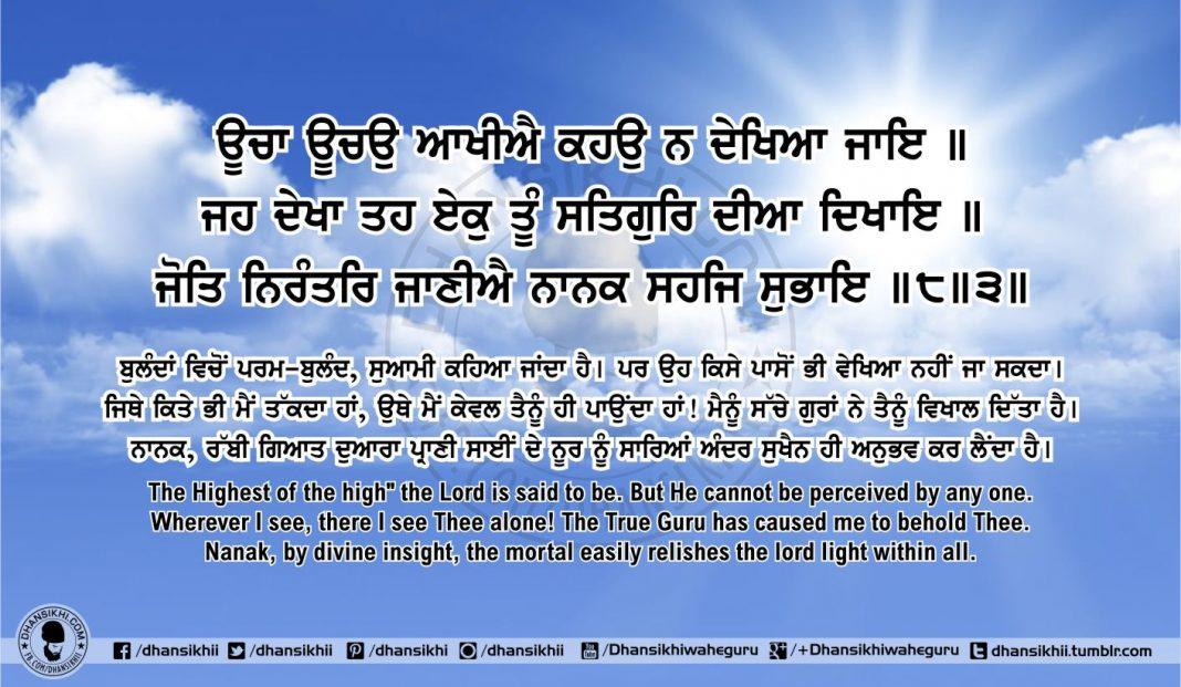 Sri Guru Granth Sahib Ji Arth Ang 55 post 4