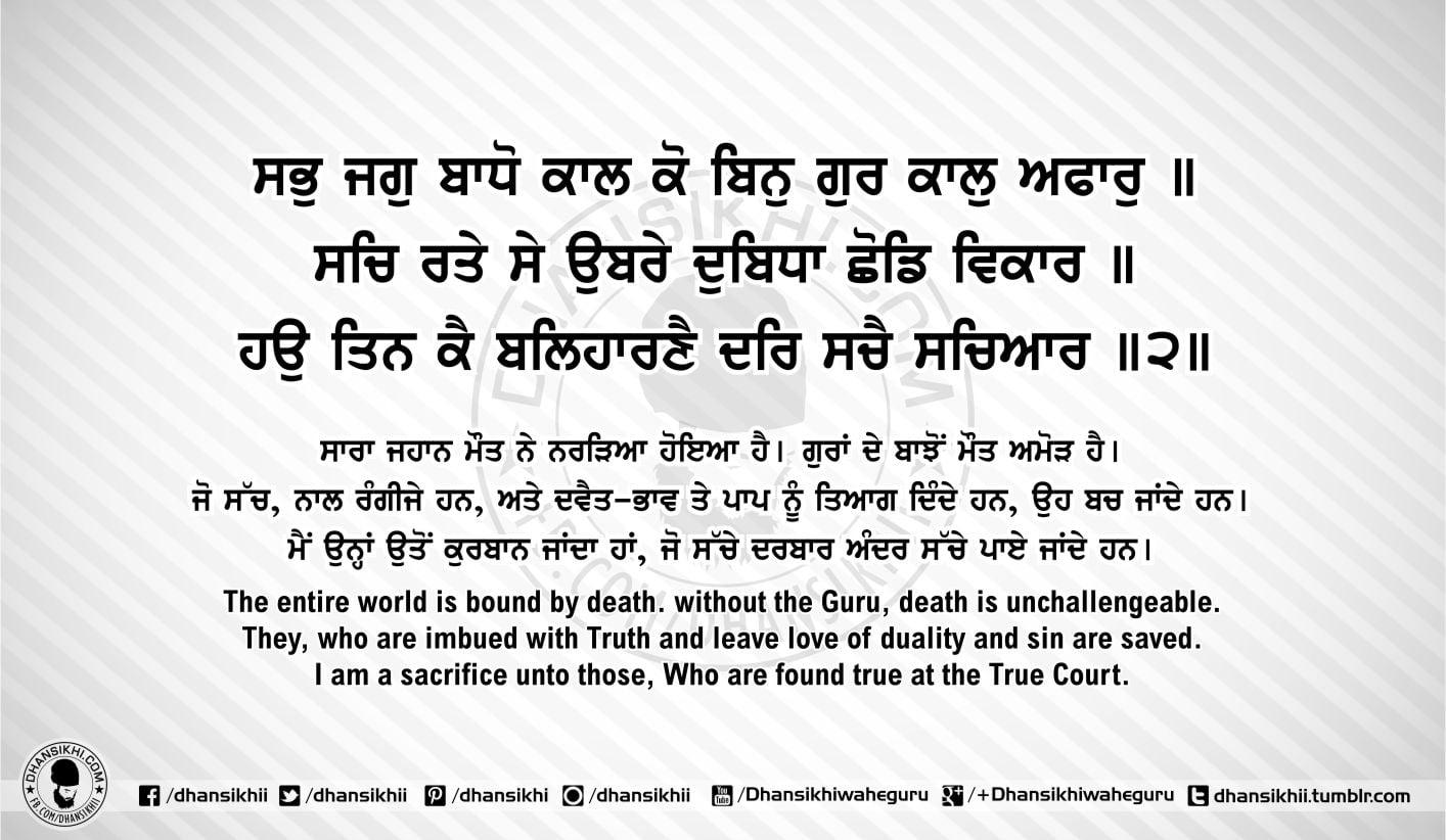 Sri Guru Granth Sahib Ji Arth Ang 55 post 8