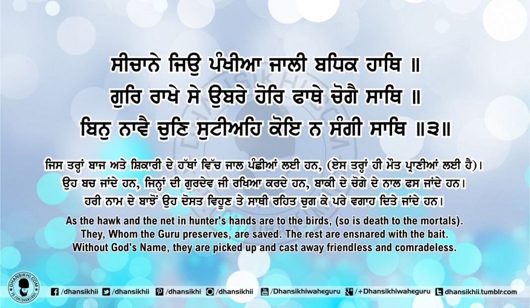 Sri Guru Granth Sahib Ji Arth Ang 55 post 9