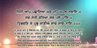 Sri Guru Granth Sahib Ji Arth Ang 56 post 16