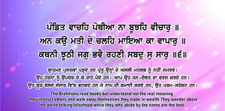Sri Guru Granth Sahib Ji Arth Ang 56 post 7
