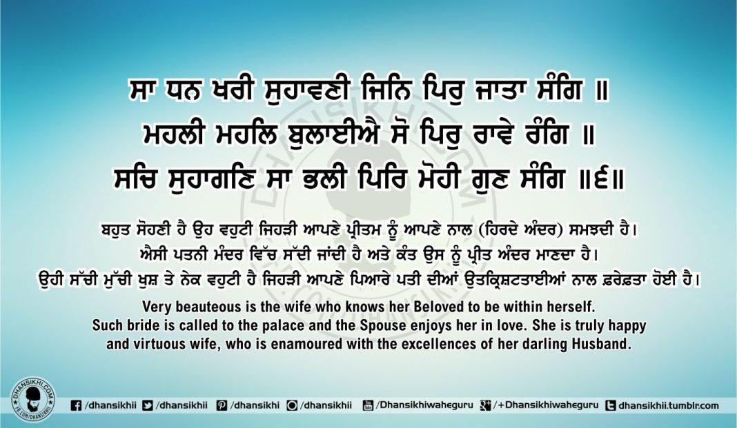 Sri Guru Granth Sahib Ji Arth Ang 57 post 1