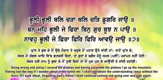 Sri Guru Granth Sahib Ji Arth Ang 57 post 2