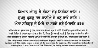 Sri Guru Granth Sahib Ji Arth Ang 57 post 8