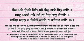 Sri Guru Granth Sahib Ji Arth Ang 58 Post 15