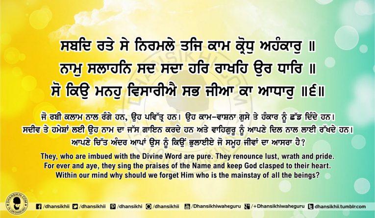 Sri Guru Granth Sahib Ji Arth Ang 58 Post 6