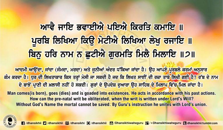 Sri Guru Granth Sahib Ji Arth Ang 59 post 12