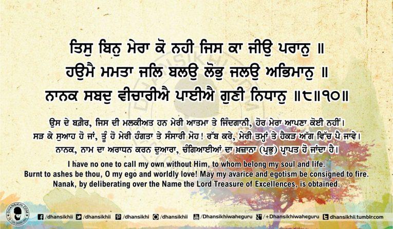 Sri Guru Granth Sahib Ji Arth Ang 59 post 13