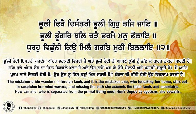 Sri Guru Granth Sahib Ji Arth Ang 60 Post 14