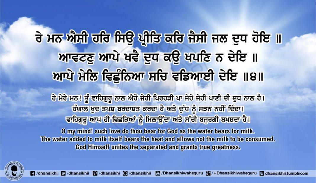 Sri Guru Granth Sahib Ji Arth Ang 60 Post 4