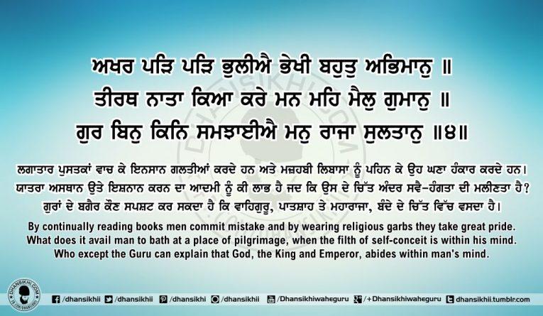Sri Guru Granth Sahib Ji Arth Ang 61 Post 1