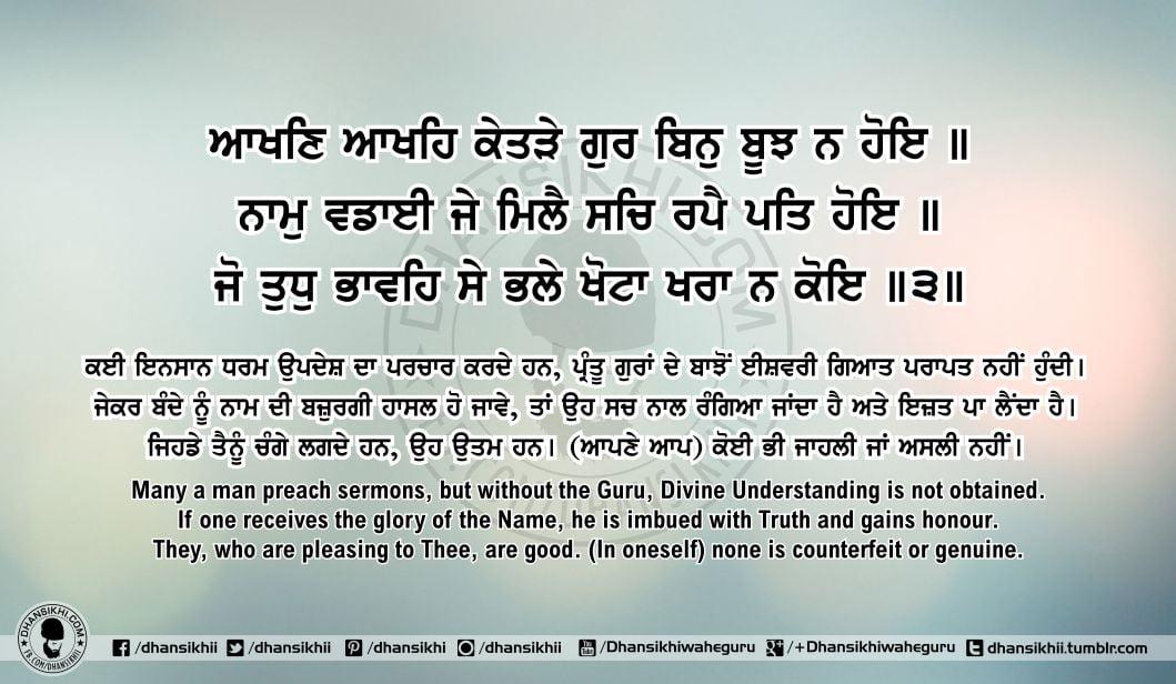 Sri Guru Granth SahibJi Arth Ang 61 Post 10