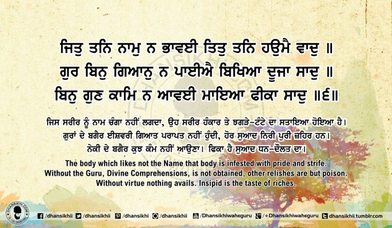 Sri Guru Granth SahibJi Arth Ang 61 Post 13