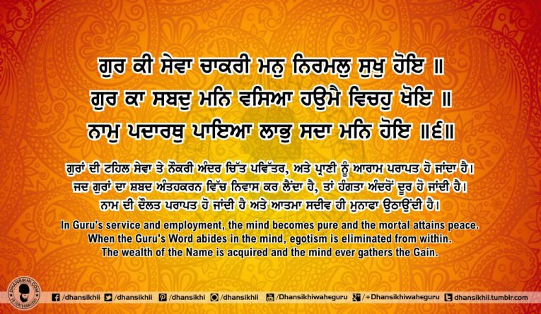 Sri Guru Granth SahibJi Arth Ang 61 Post 3