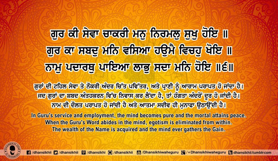 Sri Guru Granth SahibJi Arth Ang 61 Post 3