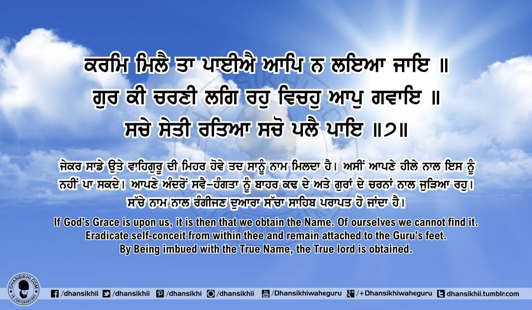 Sri Guru Granth SahibJi Arth Ang 61 Post 4