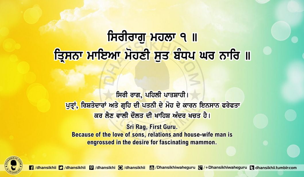 Sri Guru Granth SahibJi Arth Ang 61 Post 6